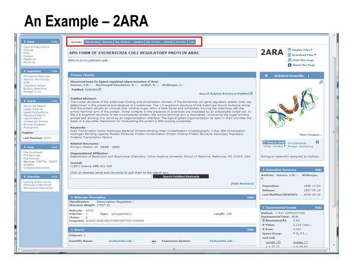 An Example – 2ARA