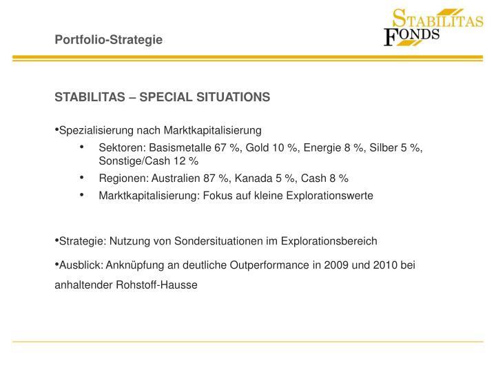 Portfolio-Strategie