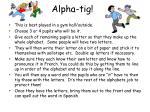 alpha tig