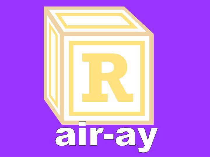 air-ay