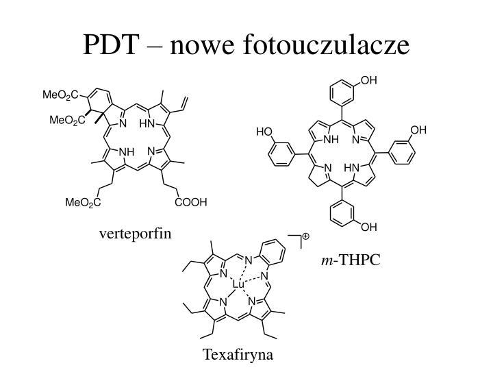 PDT – nowe fotouczulacze