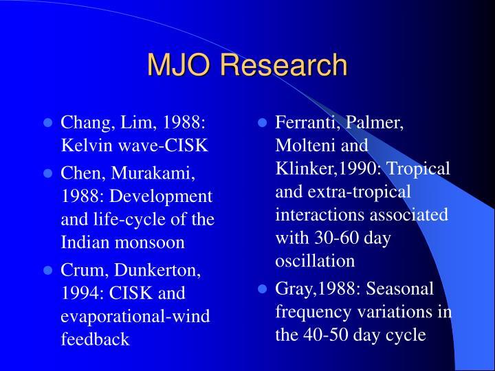 Chang, Lim, 1988: Kelvin wave-CISK