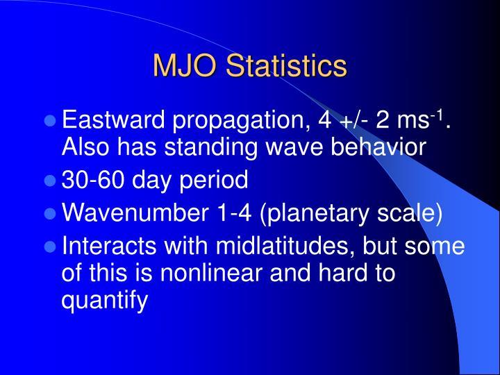 MJO Statistics