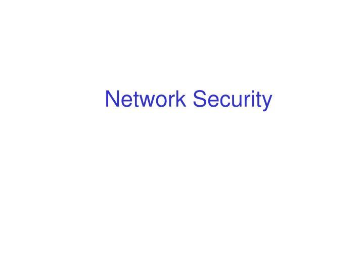 network security n.
