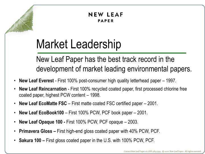 Market Leadership