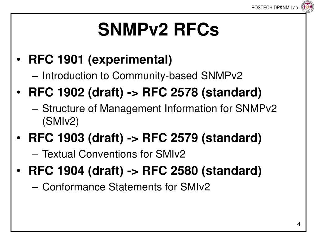Snmp V2 Rfc