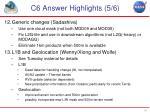 c6 answer highlights 5 6