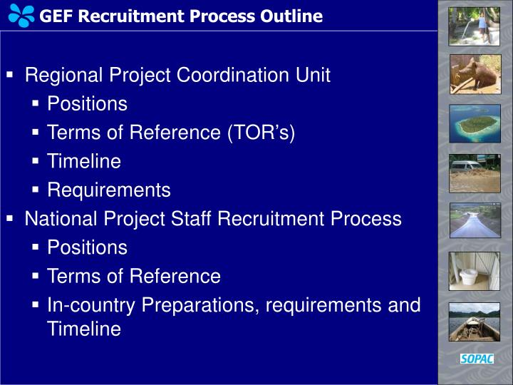 GEF Recruitment Process Outline
