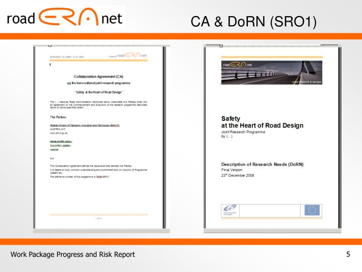 CA & DoRN (SRO1)
