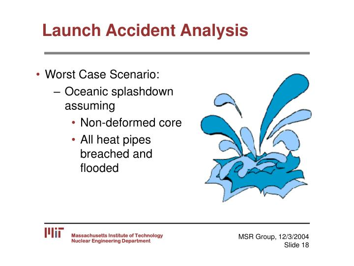 Launch Accident Analysis