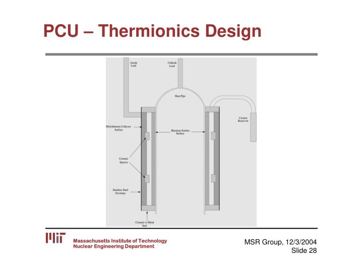 PCU – Thermionics Design