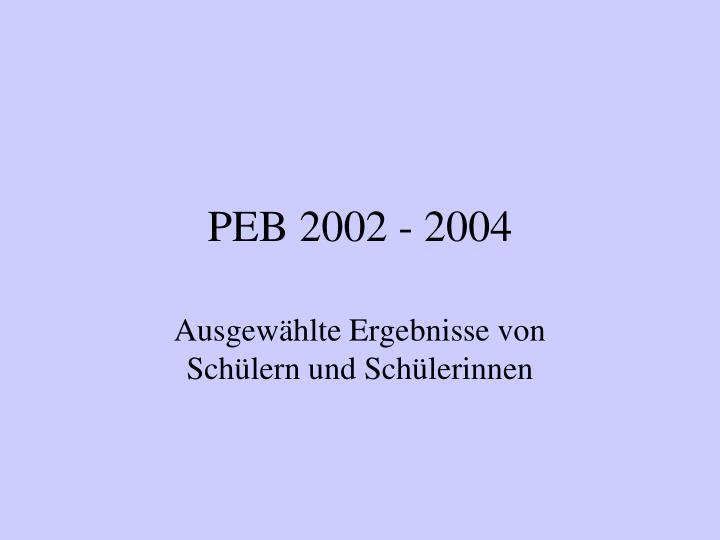 peb 2002 2004 n.