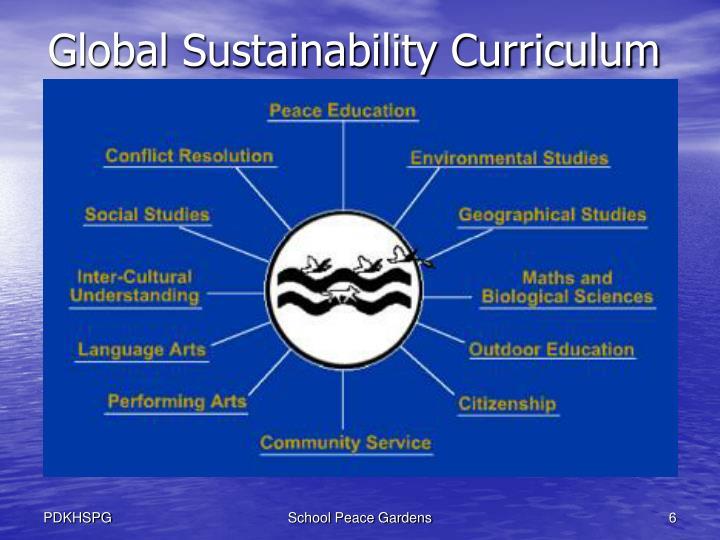 Global Sustainability Curriculum