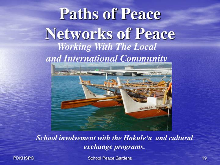 Paths of Peace