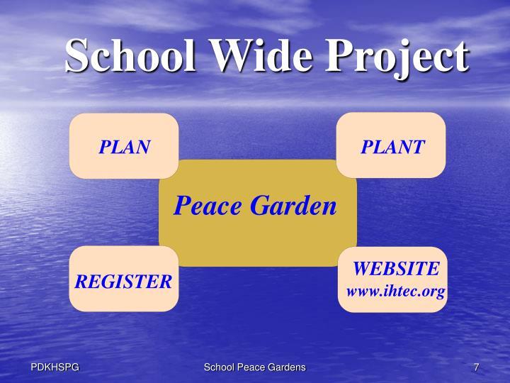 School Wide Project