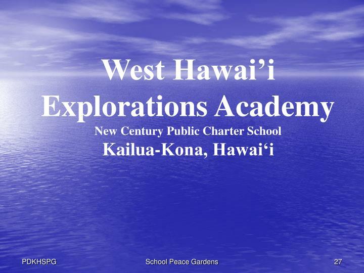 West Hawai'i Explorations Academy