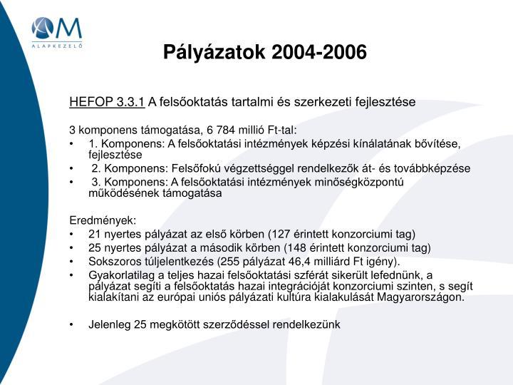 P ly zatok 2004 2006