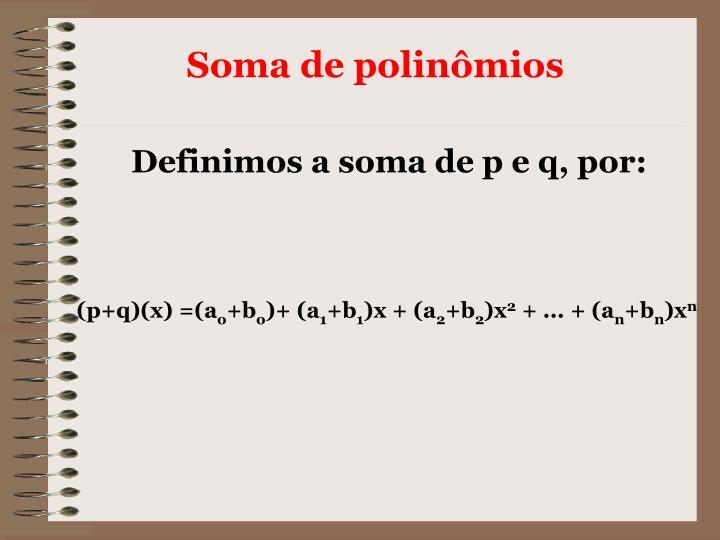 (p+q)(x) =(a