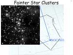 fainter star clusters5