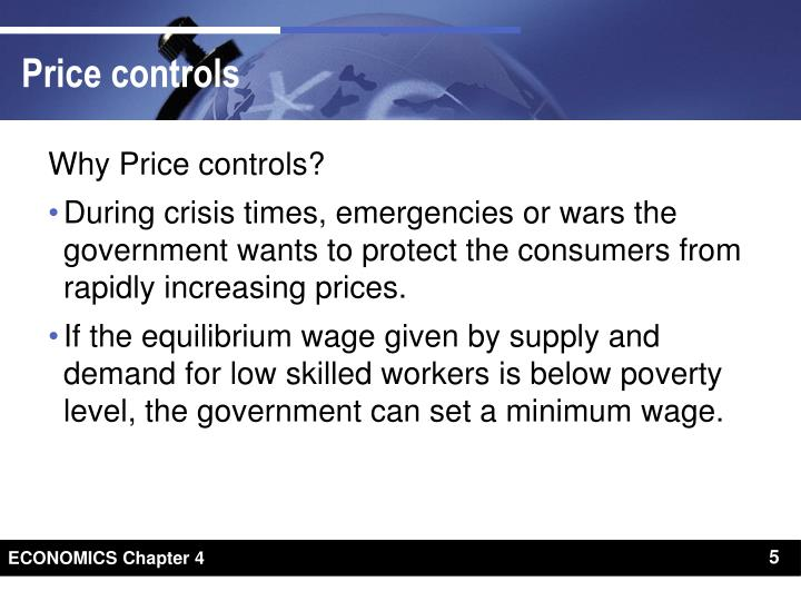 Why Price controls?