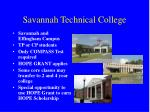 savannah technical college