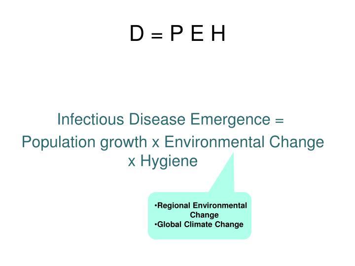 D = P E H