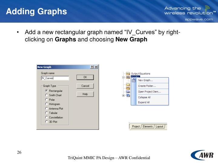 Adding Graphs