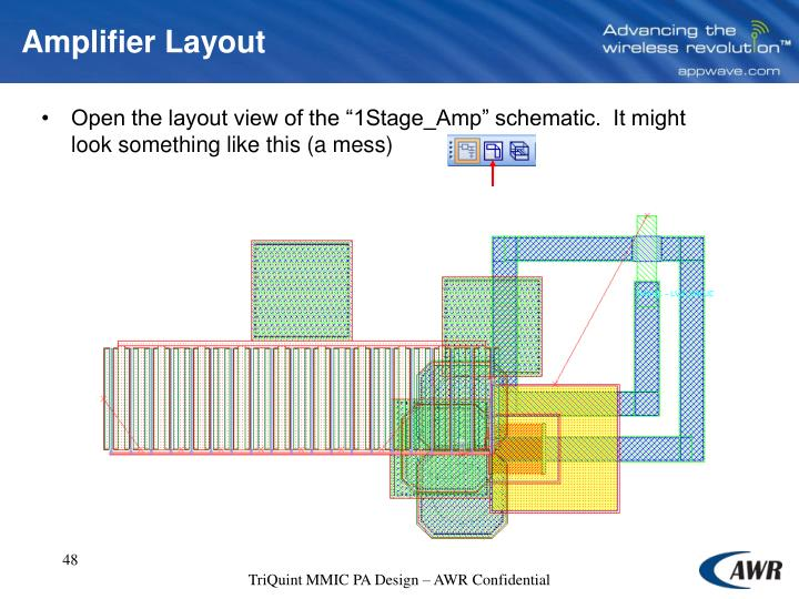 Amplifier Layout