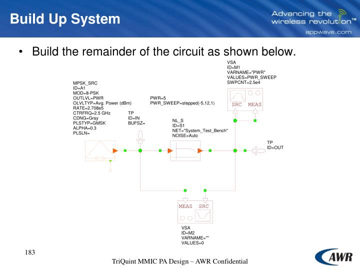 Build Up System