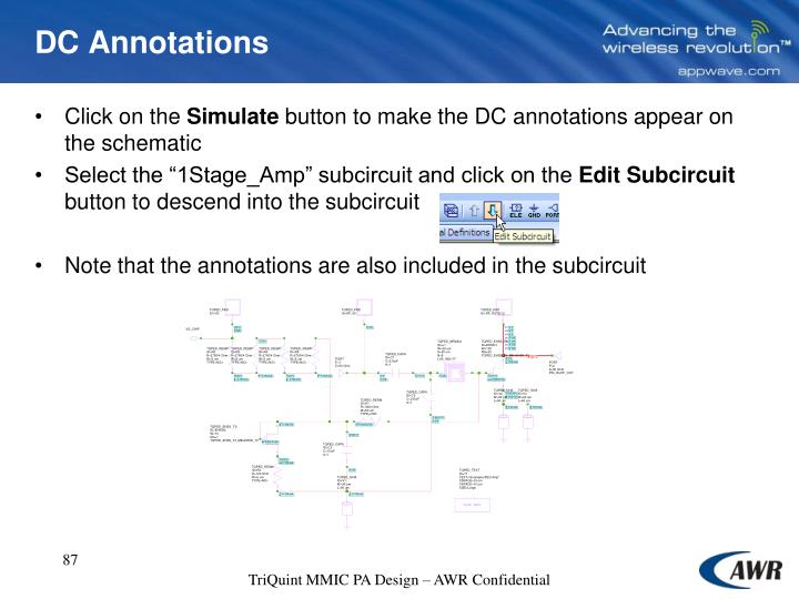 DC Annotations