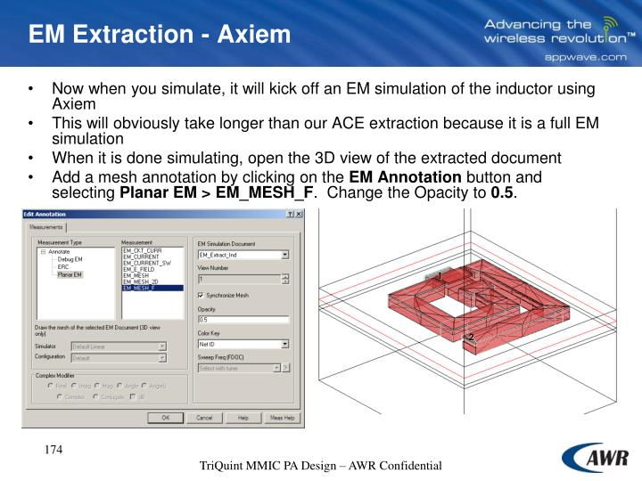 EM Extraction - Axiem