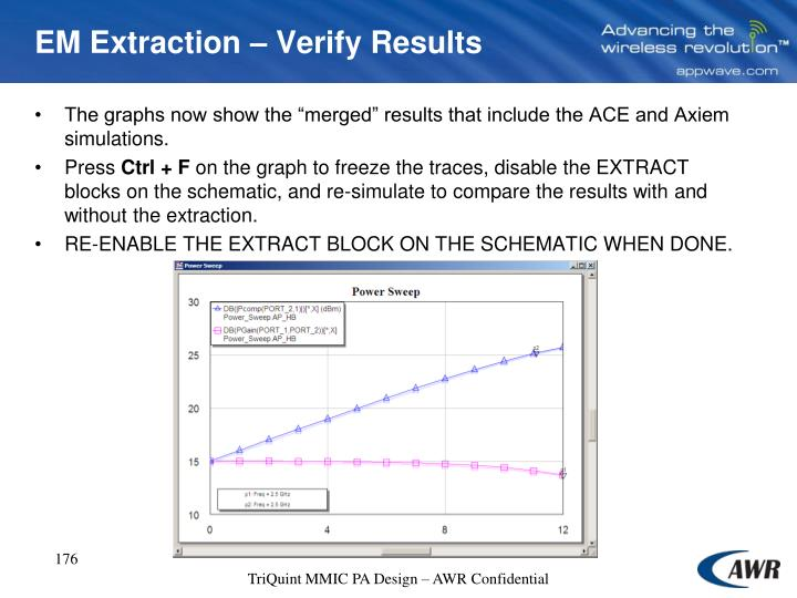 EM Extraction – Verify Results
