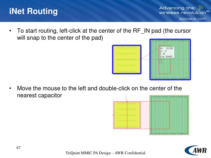 iNet Routing