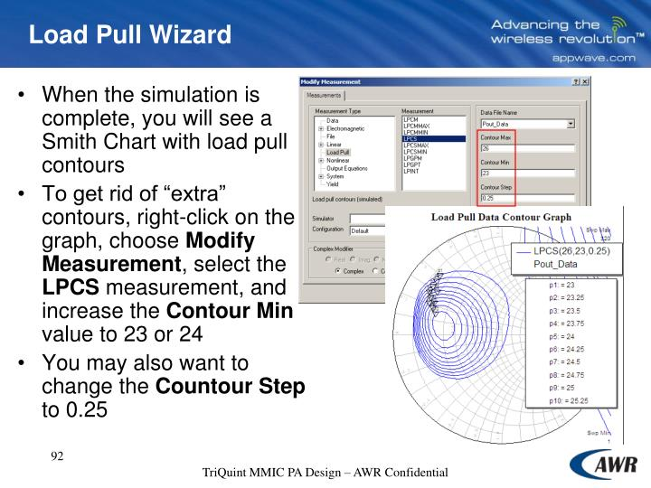 Load Pull Wizard