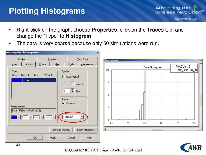 Plotting Histograms