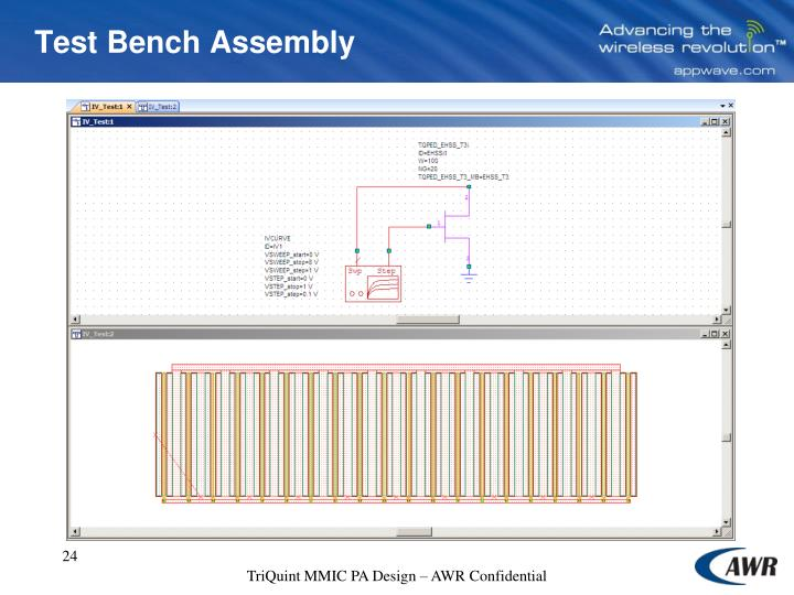 Test Bench Assembly