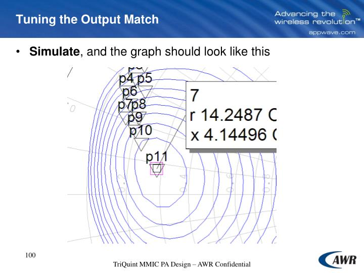 Tuning the Output Match