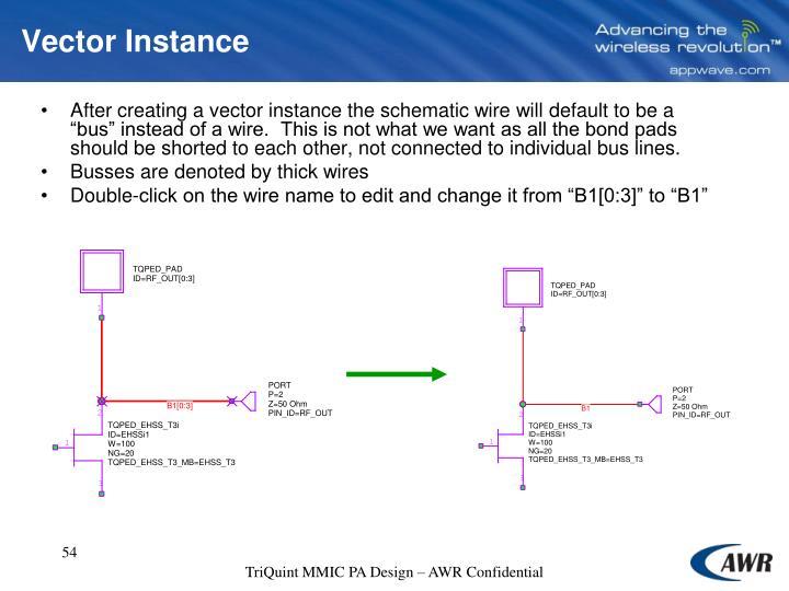 Vector Instance