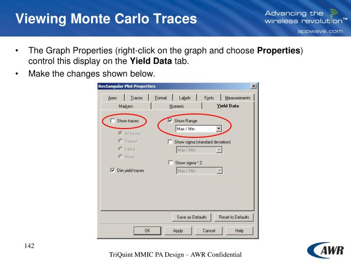 Viewing Monte Carlo Traces
