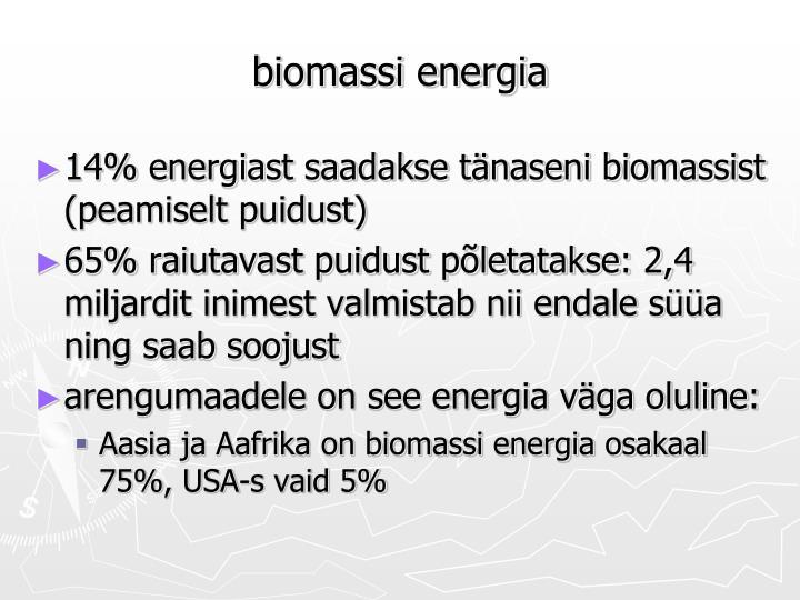 biomassi energia