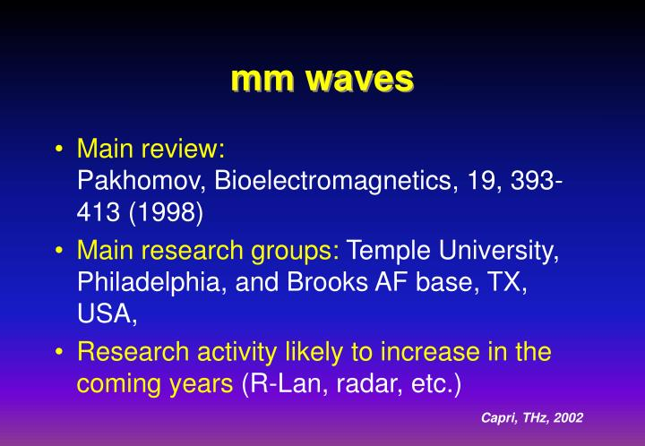 mm waves