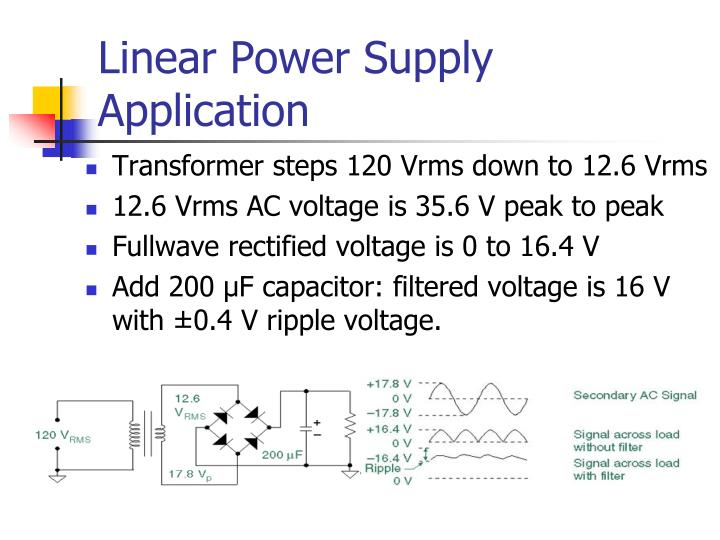 Linear Power Supply Application