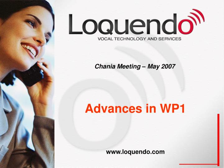Chania meeting may 2007