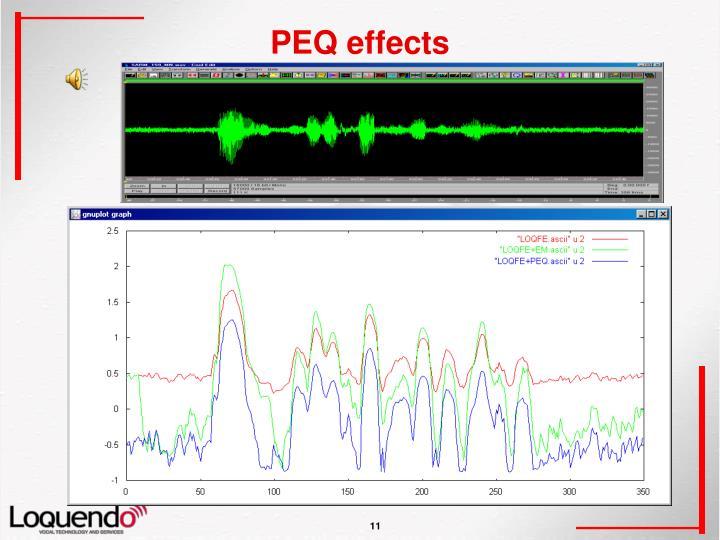 PEQ effects