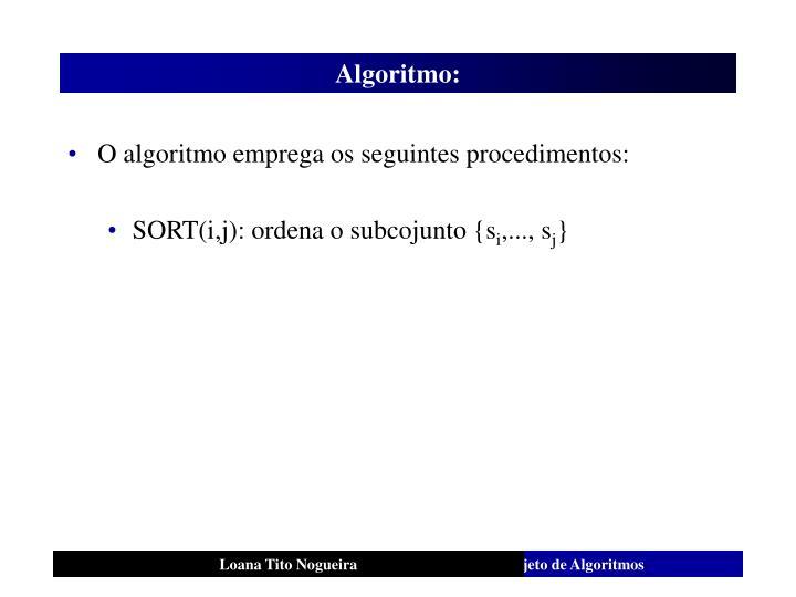 Algoritmo: