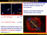 possible extra galactic sources of cr grb