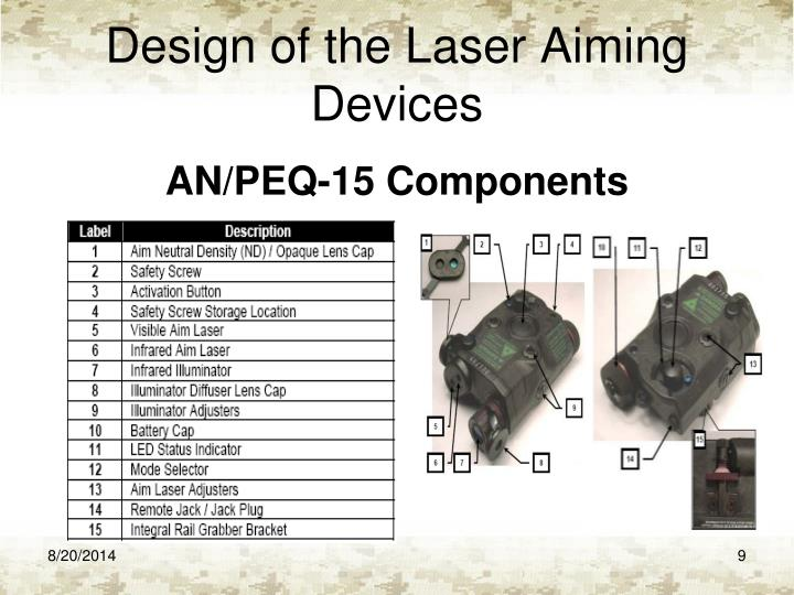 Ppt Coach The Use Of Laser Aiming Devices Powerpoint