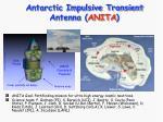 antarctic impulsive transient antenna anita
