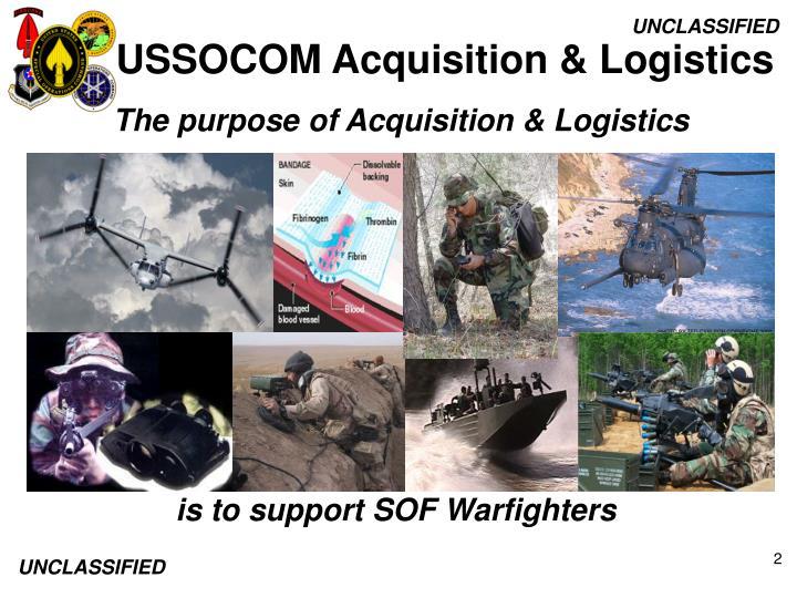 USSOCOM Acquisition & Logistics
