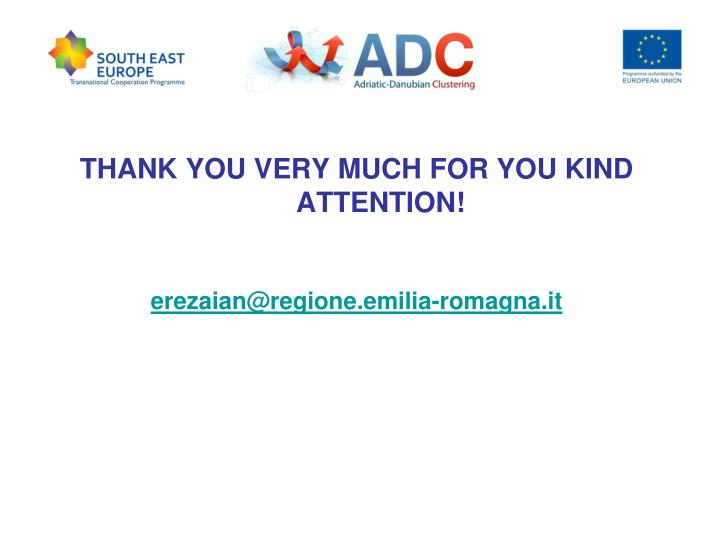 THANK YOU VERY MUCH FOR YOU KIND ATTENTION!